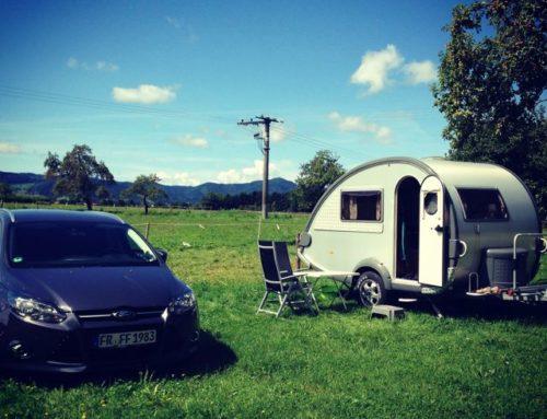 Camping beim Wohnmobil – Stellplatz auf dem Wanglerhof