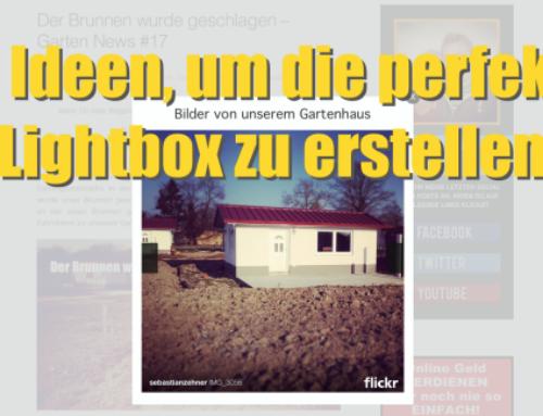 10 Ideen, um die perfekte Lightbox zu erstellen