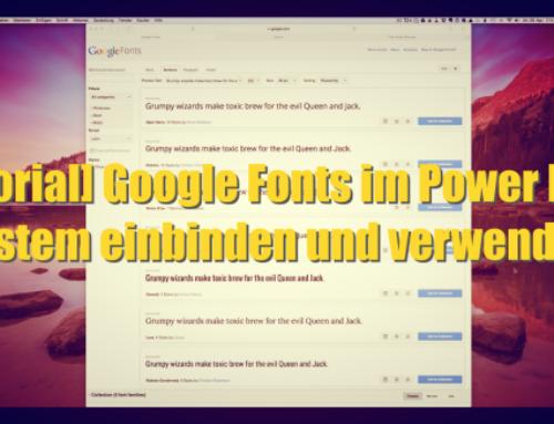 [Tutorial] Google Fonts im Power Lead System einbinden und verwenden