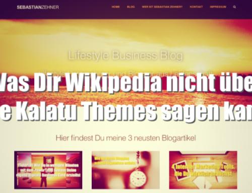 Was Dir Wikipedia nicht über die Kalatu Themes sagen kann