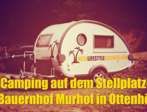 Camping auf dem Stellplatz am Bauernhof Murhof in Ottenhöfen