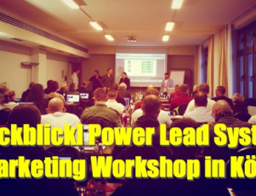 [Rückblick] Power Lead System Marketing Workshop in Köln