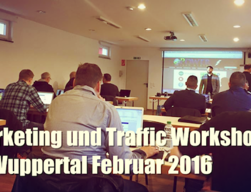 [PLS] Marketing und Traffic Workshop in Wuppertal Februar 2016