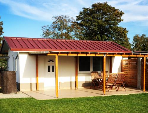 Terrassenüberdachung fertiggestellt – Garten News #33