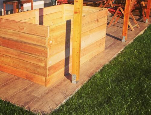 Wir bauen unser Hochbeet und das Ende von unserem Garten – Garten News #35
