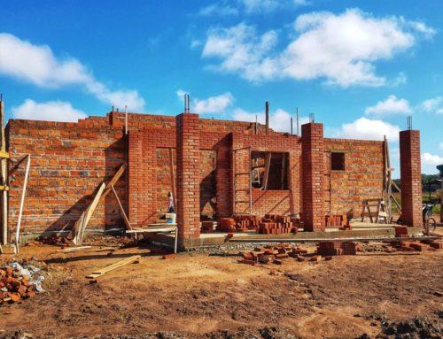 Hausbau in Paraguay Teil 2