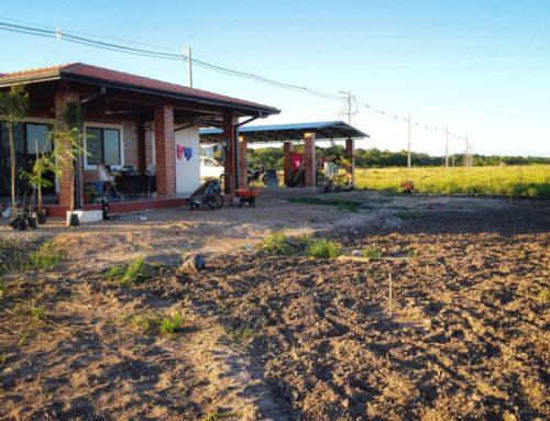 Einzug in unser neues Haus in Paraguay